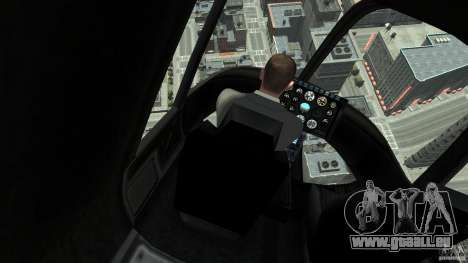 NYC Helitours Texture pour GTA 4 Vue arrière de la gauche