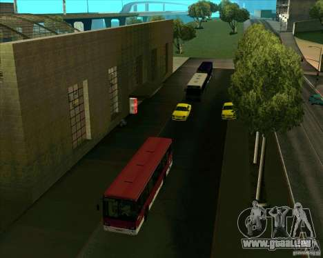 Priparkovanyj Transport v1. 0 für GTA San Andreas her Screenshot
