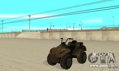 ATV de TimeShift pour GTA San Andreas