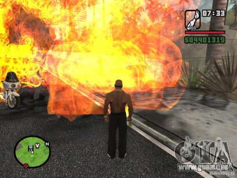 Molotow-Kosaken für GTA San Andreas zweiten Screenshot