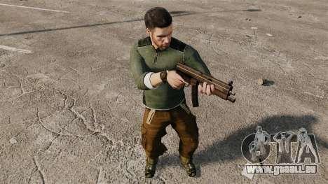 Sam Fisher v4 für GTA 4 fünften Screenshot