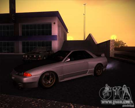 Nissan Skyline (R32) SHE pour GTA San Andreas laissé vue