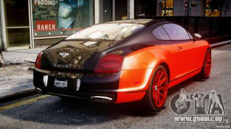 Bentley Continental SS 2010 Le Mansory [EPM] pour GTA 4 est un côté