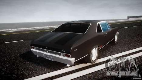 Chevrolet Nova 1969 für GTA 4 Seitenansicht