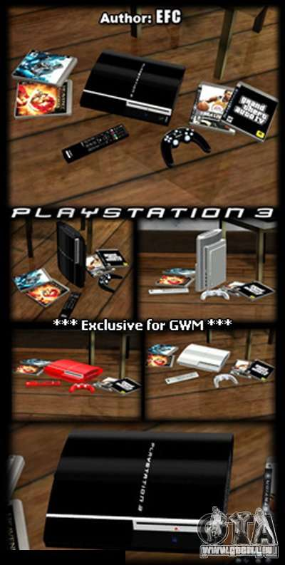 PLAYSTATION 3 für GTA San Andreas zweiten Screenshot