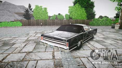 Lincoln Continental Town Coupe v1.0 1979 für GTA 4 obere Ansicht