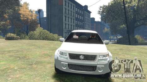 Suzuki Grand Vitara für GTA 4 hinten links Ansicht