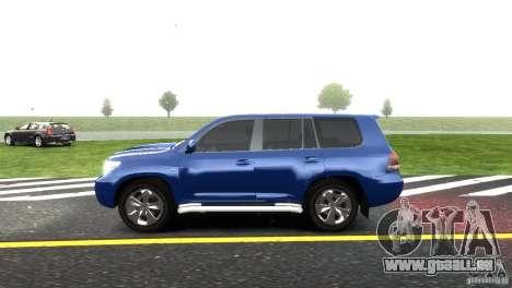 Toyota Land Cruiser 200 RESTALE pour GTA 4 Vue arrière de la gauche