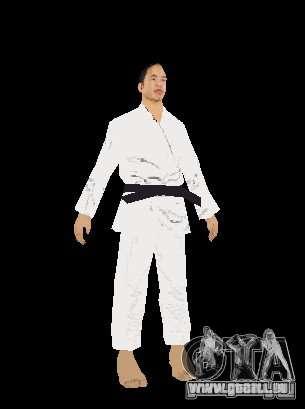Reteksturirovannye karate für GTA San Andreas her Screenshot