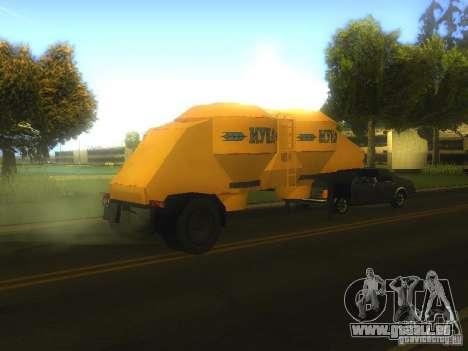 Mukovoz K4-AMG-trailer für GTA San Andreas