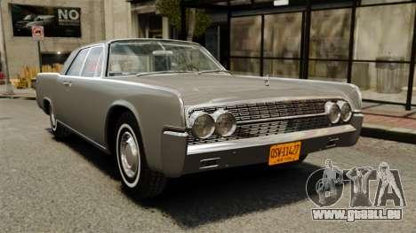 Lincoln Continental 1962 für GTA 4