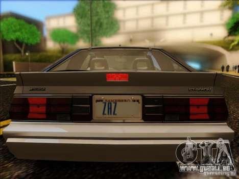 Mitsubishi Starion ESI-R 1986 für GTA San Andreas rechten Ansicht