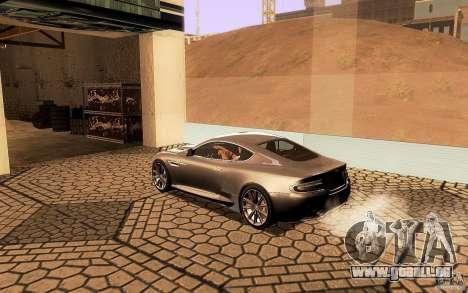 Aston Martin Virage V1.0 für GTA San Andreas Innen