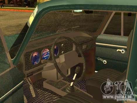 AZLK 2734 pour GTA San Andreas vue arrière