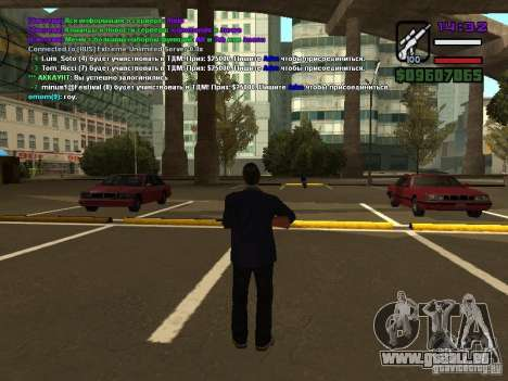 SA-MP 0.3x Client für GTA San Andreas fünften Screenshot