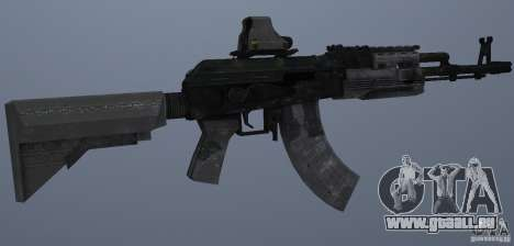 AK47+Holographic sight pour GTA San Andreas