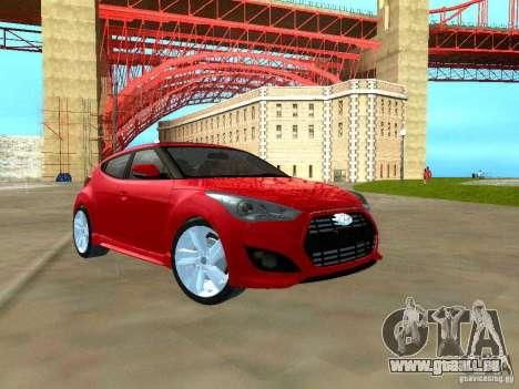 Hyundai Veloster Turbo v1.0 pour GTA San Andreas