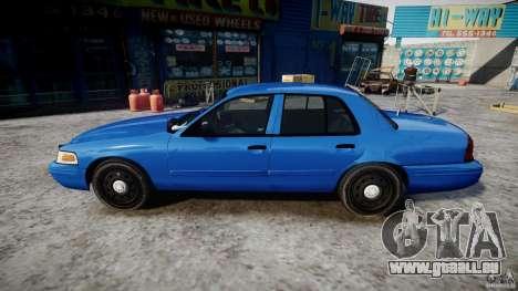 Ford Crown Victoria Detective v4.7 [ELS] für GTA 4 linke Ansicht
