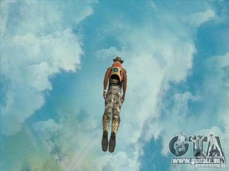 Beaux nuages et plus pour GTA San Andreas