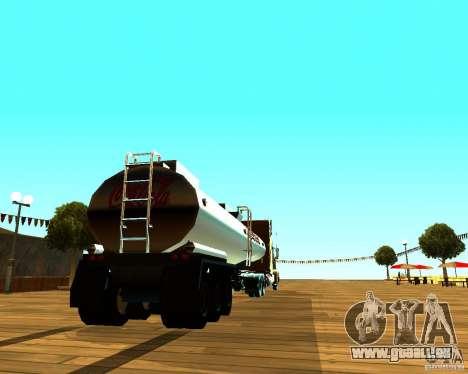 Trailer de Coca Cola pour GTA San Andreas sur la vue arrière gauche