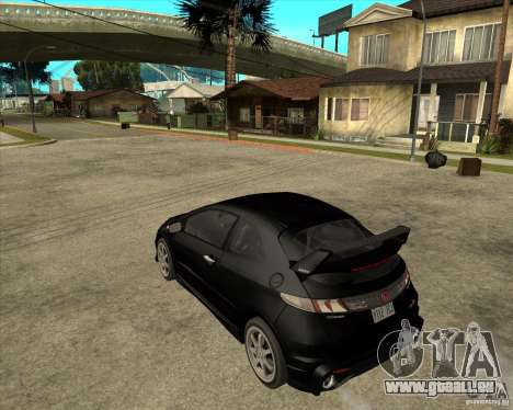 2009 Honda Civic Type R Mugen Tuning für GTA San Andreas linke Ansicht