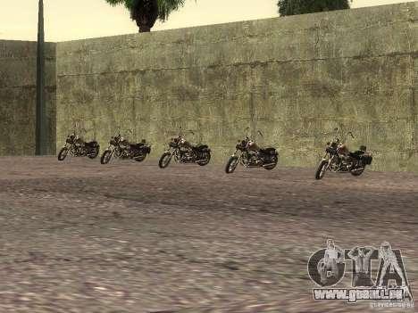 Die realistische Schule Biker v1. 0 für GTA San Andreas her Screenshot