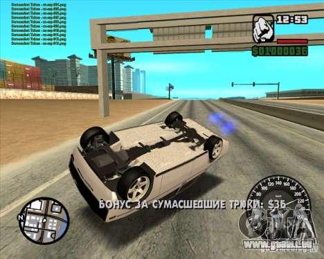 VAZ 2106 tuning pour GTA San Andreas vue de droite