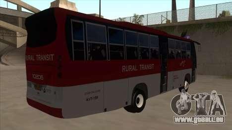 Rural Transit 10206 pour GTA San Andreas vue de droite