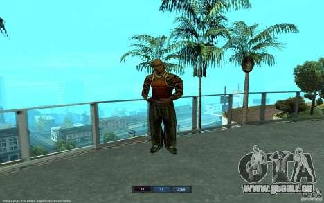 Crime Life Skin Pack pour GTA San Andreas deuxième écran