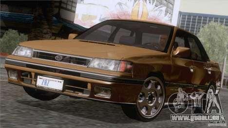 Subaru Legacy RS pour GTA San Andreas laissé vue