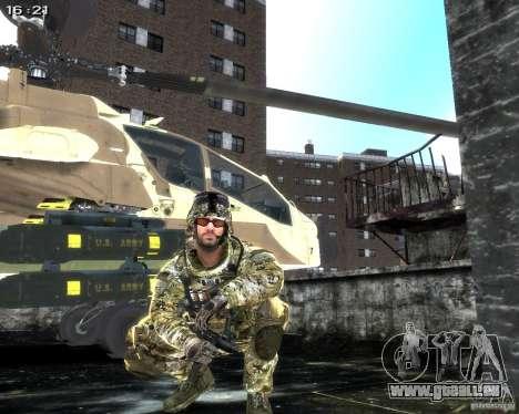 Micro Uzi pour GTA 4 sixième écran