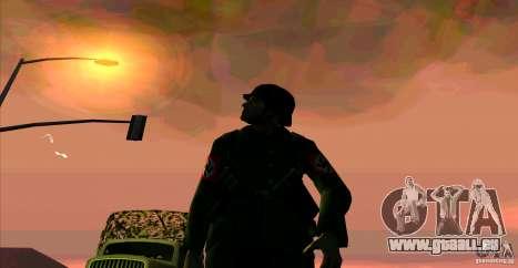 Soldaten der Wehrmacht für GTA San Andreas zweiten Screenshot