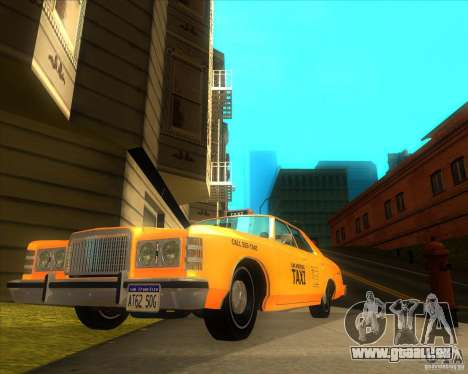 Ford Custom 500 4 door taxi 1975 für GTA San Andreas