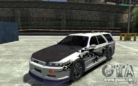 Nissan Stagea R34 GT-R für GTA 4