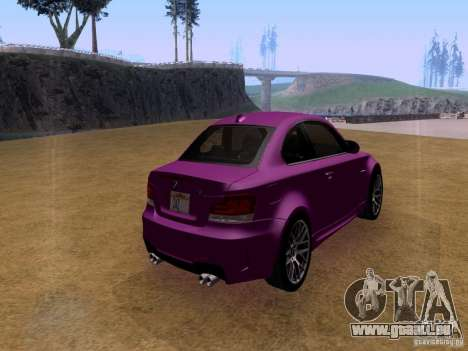 BMW 1M  2011 für GTA San Andreas linke Ansicht