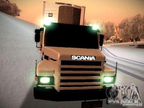 Scania T112 pour GTA San Andreas vue arrière