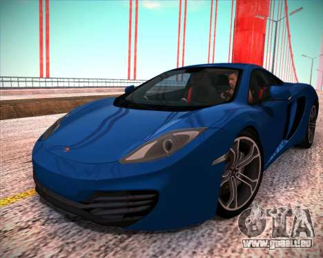 McLaren MP4-12C 2012 pour GTA San Andreas