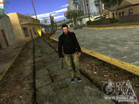 Claude HD Remake (Beta) für GTA San Andreas dritten Screenshot