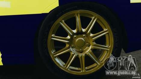 Subaru Impreza British ANPR [ELS] pour GTA 4 est un côté