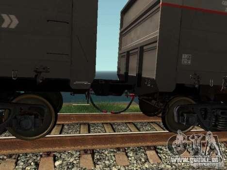 Ouvrez JSC RZHD pour GTA San Andreas vue intérieure