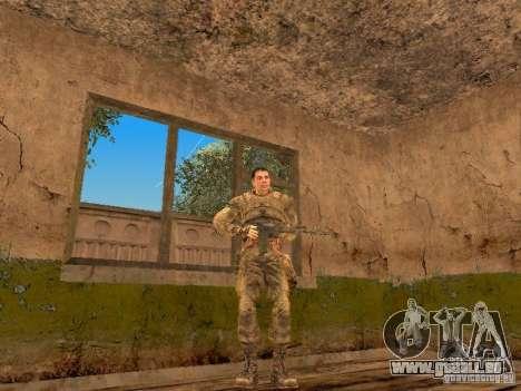 Degtyarev de Stalker pour GTA San Andreas cinquième écran