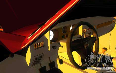 GAZ Limousine de Volga 3102 pour GTA San Andreas vue intérieure