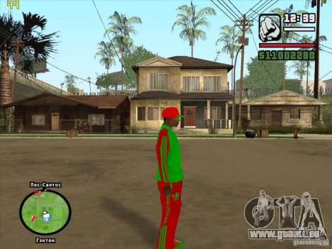 Remplacement complet du magasin Binco Adidas pour GTA San Andreas onzième écran