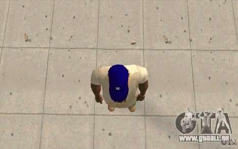 GAP Newyorkyankiys lila für GTA San Andreas dritten Screenshot