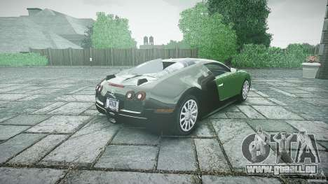 Bugatti Veyron 16.4 pour GTA 4 est un côté