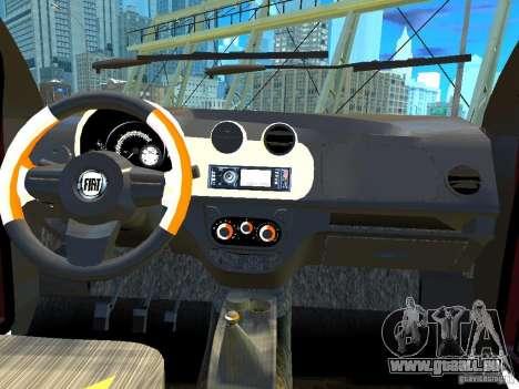 Fiat Novo Uno Sporting für GTA 4 Innenansicht
