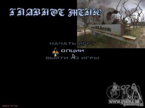 Menu principal-style Stalker pour GTA San Andreas