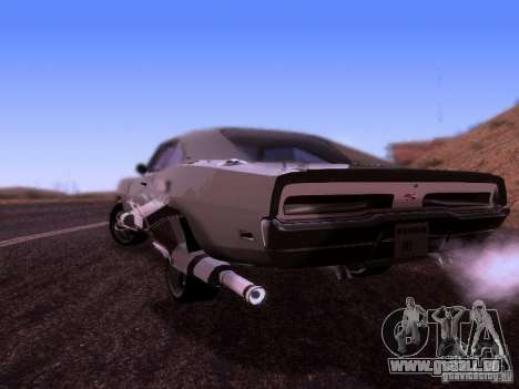 Dodge Charger 1970 Fast Five für GTA San Andreas linke Ansicht