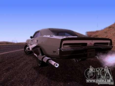 Dodge Charger 1970 Fast Five für GTA San Andreas linke Ansicht