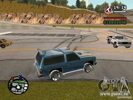 ENBSeries pour GForce FX 5200 pour GTA San Andreas troisième écran